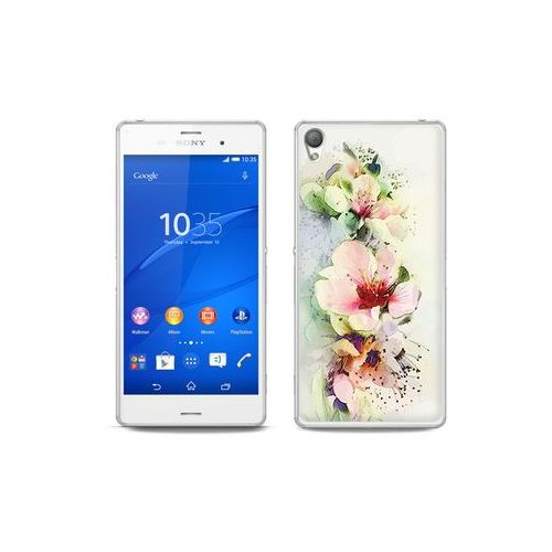 etuo Fantastic Case - Sony Xperia Z3 - etui na telefon Fantastic Case - róże herbaciane