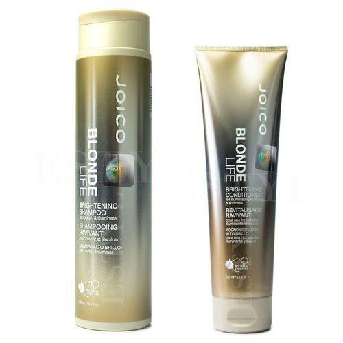 Joico blonde life | zestaw do włosów blond: szampon 300ml + odżywka 250ml