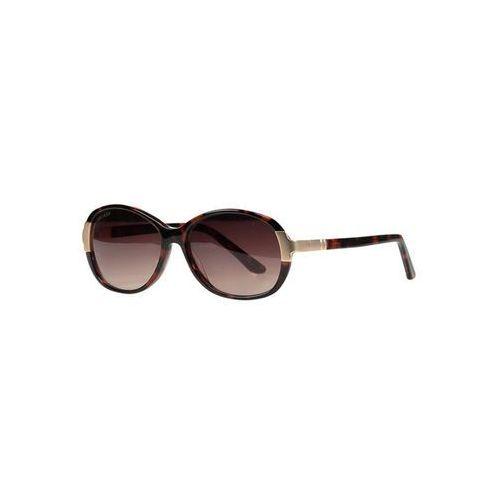 Okulary przeciwsłoneczne z metalowymi detalami, towar z kategorii: Okulary przeciwsłoneczne