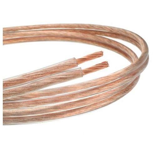 Kabel (przewód) głośnikowy z czystej miedzi 2x 1mm2, 4511