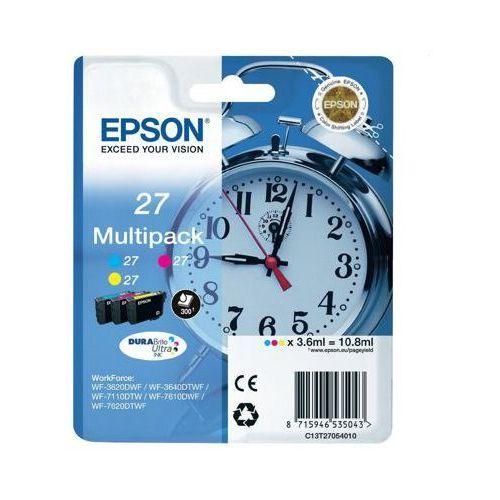Tusze oryginalne t2705 (trójpak) do  workforce wf-7110 dtw - darmowa dostawa w 24h marki Epson