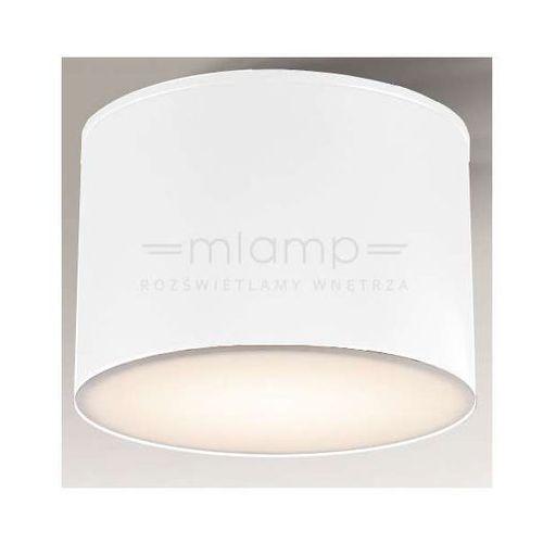 Shilo Plafon lampa sufitowa suwa 1174/gx53/bi natynkowa oprawa downlight okrągły biały