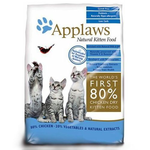 APPLAWS Kitten Chicken sucha karma dla kociąt opak. 400g/2kg/7,5kg