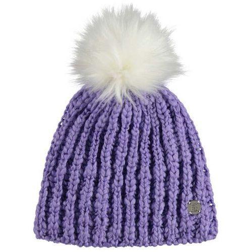 Bench Czapka zimowa - turn up bobble beanie light purple (pu132) rozmiar: os