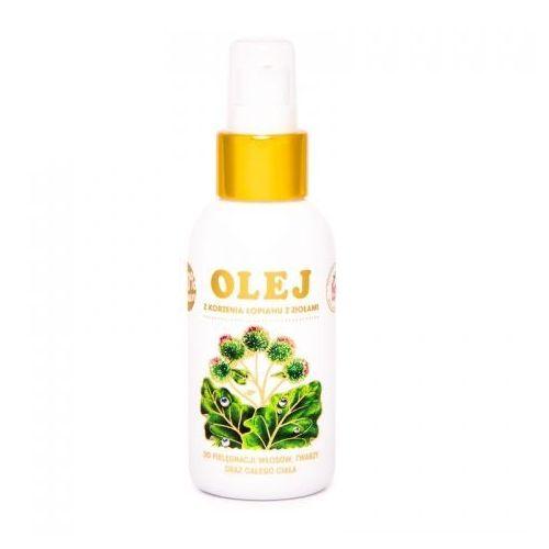 Olej z korzenia łopianu z ziołami 100 ml