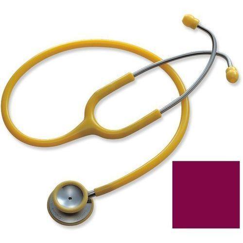 Stetoskop internistyczny Spirit Deluxe S601PF - burgundowy