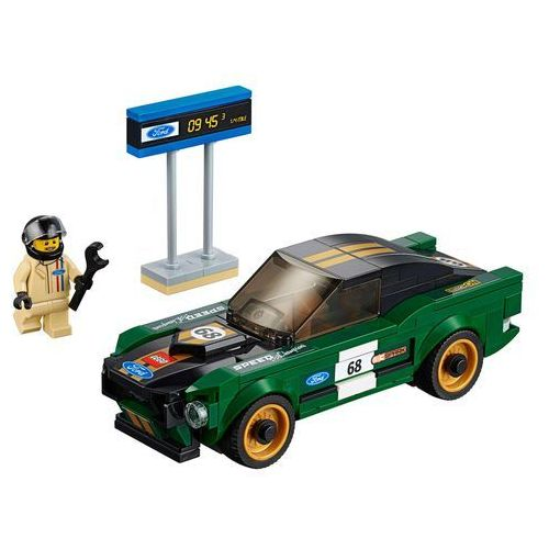 Lego SPEED CHAMPIONS Ford mustang fastback 75884