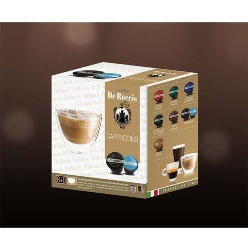 Cappuccino de roccis kapsułki do dolce gusto – 16 kapsułek marki Nespresso kapsułki
