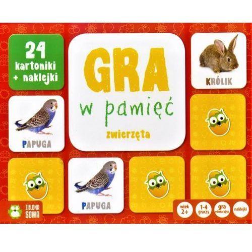 Rosnę i Poznaję Gra w pamięć Zwierzęta - Zielona Sowa, AM_5901761118261