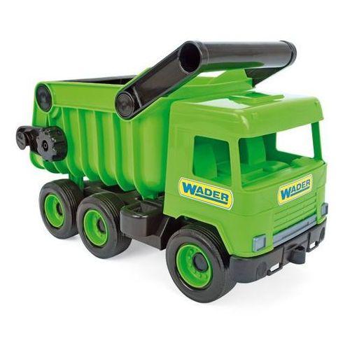 Wader Middle truck wywrotka zielona w kartonie -