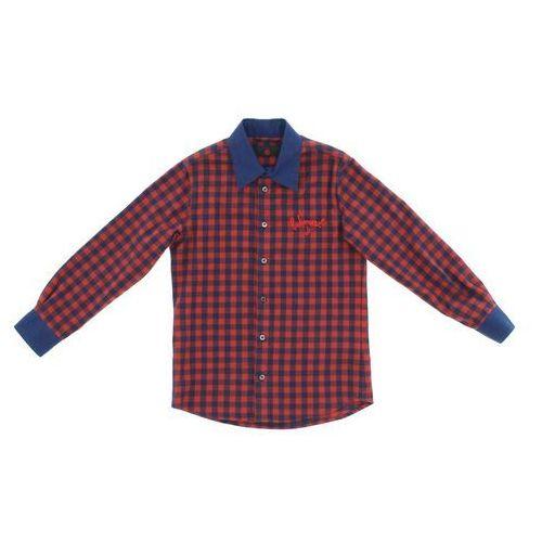 koszula dziecięca niebieski czerwony 8 lat marki John richmond