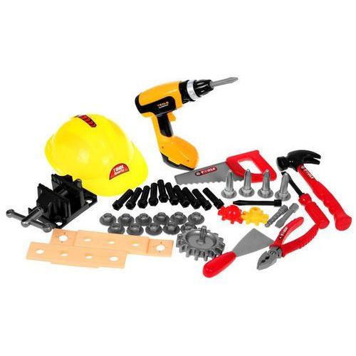 Kindersafe Warsztat majsterkowicza + narzędzia + kask t104 (5902921968948)