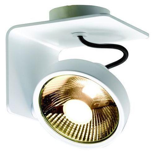 Spot LAMPA sufitowa JERSY 70070101 Kaspa metalowa OPRAWA natynkowa REFLEKTOR minimalistyczny regulowany biały (5902047300219)