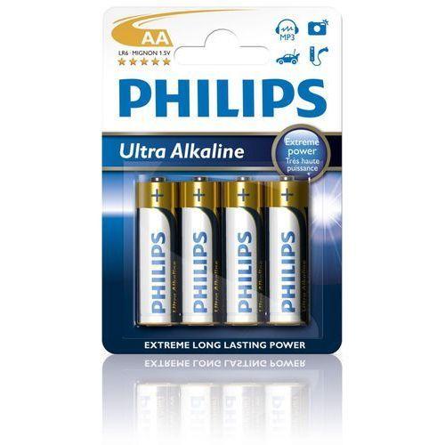 Bateria PHILIPS LR6E4B/10 ULTRA ALAKLINE (4szt.)- TOWAR ZAMÓWIONY DO 17:00 WYŚLEMY JESZCZE DZISIAJ!!!