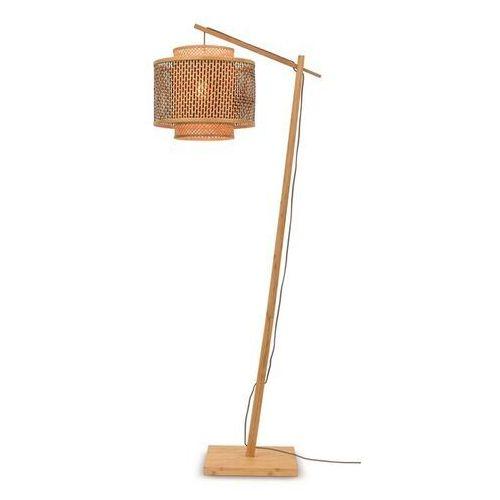 lampa podłogowa mała bhutan naturalna 40x34 bhutan/f/ad/n/4034/bn marki Good&mojo
