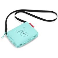 Mała torebka dla dziewczynek itbag kids cats and dogs miętowa (rja4062) marki Reisenthel