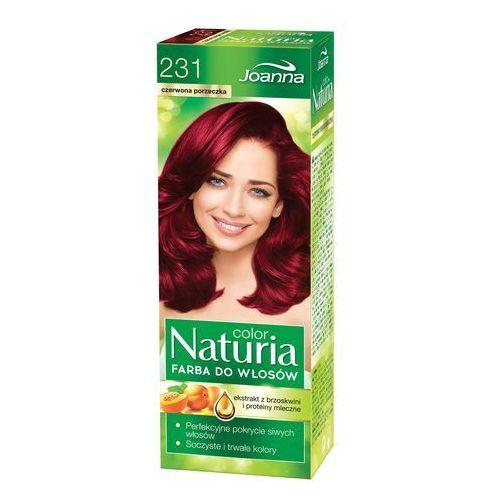 Joanna Naturia Color Farba do włosów Czerwona Porzeczka nr 231 (5901018053475)