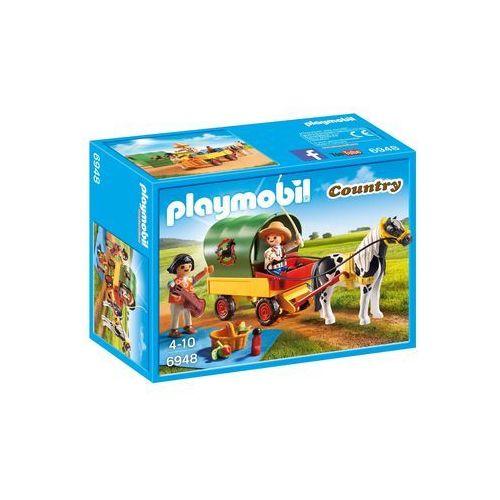 Playmobil COUNTRY Wycieczka z bryczką kucyków 6948