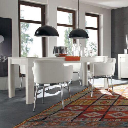 Fato luxmeble Stół włoski 180x90 cm biały wysoki połysk