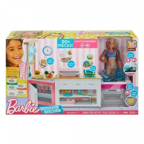 Lalka Barbie zestaw Idealna kuchnia