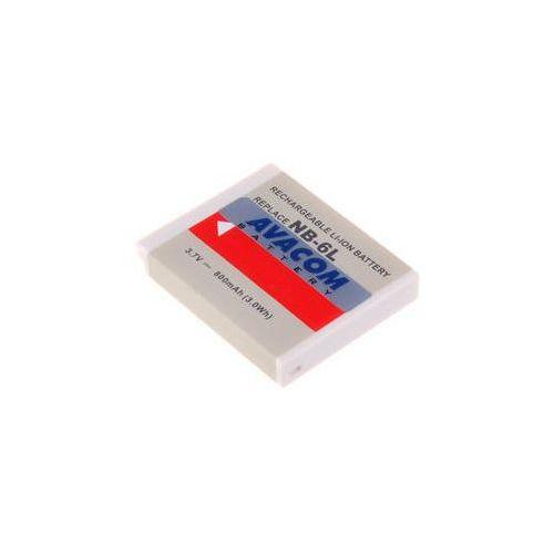 Bateria do notebooków  pro canon nb-6l li-ion 3.7v 800mah (dica-nb6l-532) marki Avacom