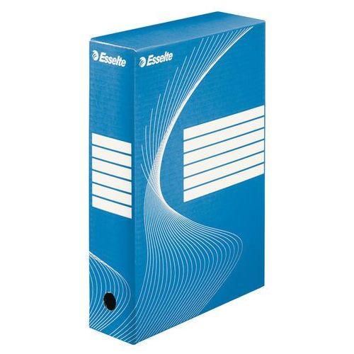 Pudło archiwizacyjne standard niebieskie 80mm. marki Esselte