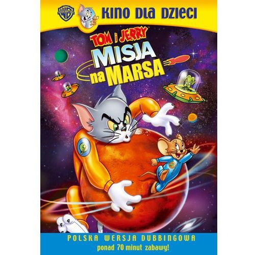 Tom i jerry: misja na marsa (tom and jerry, blast off to mars) marki Galapagos films