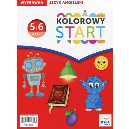 Kolorowy Start Język angielski Wyprawka 5 i 6-latki (9788378738923)