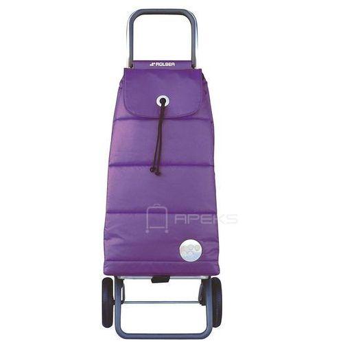 logic wózek na zakupy / składany / pac023 polar more / fioletowy - fioletowy marki Rolser