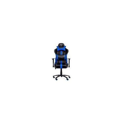 Diablo chairs x-player (czarno-niebieski)