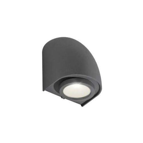 Zewnętrzna lampa elewacyjna fons gm1108 dgr ścienna oprawa ogrodowa kinkiet outdoor ip65 ciemny szary marki Azzardo