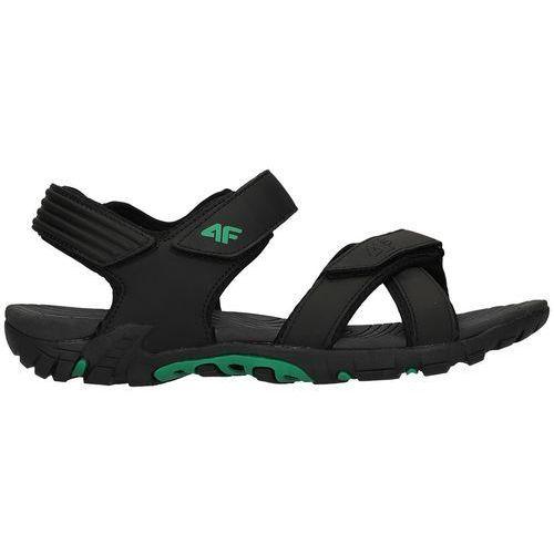 4f Męskie sandały h4l18 sam002 czarny 40