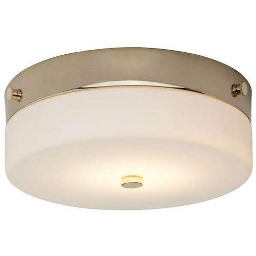 Plafon lampa sufitowa tamar bath/tam/f/m pg łazienkowa oprawa okrągła klasyczna ip44 złota biała marki Elstead