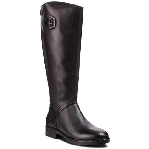 Oficerki TOMMY HILFIGER - Basic Th Riding Boot FW0FW03433 Black 990, w 6 rozmiarach