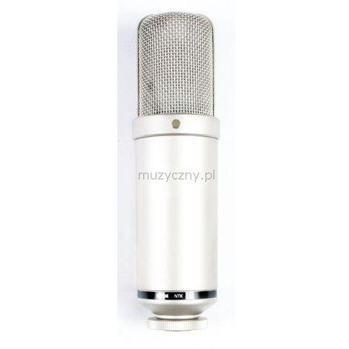 ntk lampowy mikrofon pojemnościowy marki Rode