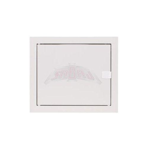 Rozdzielnica modułowa podtynkowa 6 modułów IP31 270x225x120 Biała RP 6 Z ZAMKIEM (5907813120077)