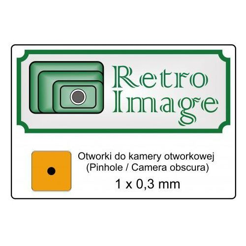 Retro-image otworek 0,3 mm do kamery otworkowej