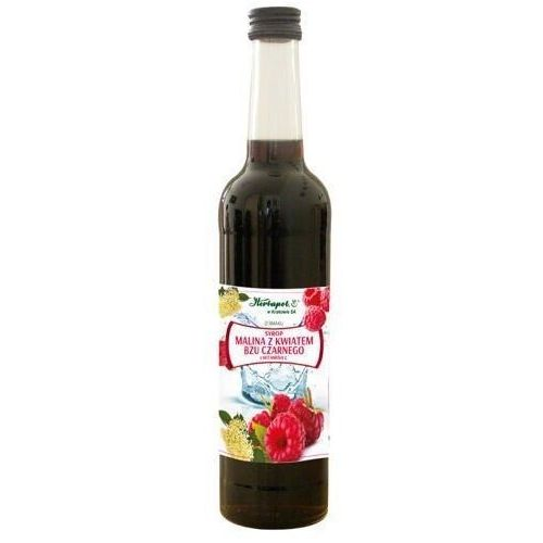 Syrop Malina z kwiatem bzu czarnego i witaminą C 420ml