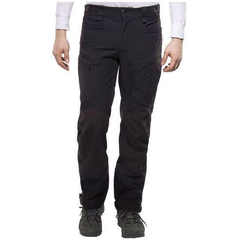 Haglöfs mountain spodnie materiałowe true black solid