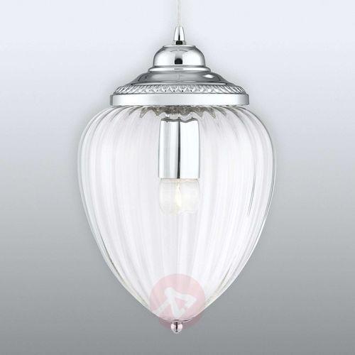 Searchlight Szklana lampa wisząca pendants ze żłobieniami