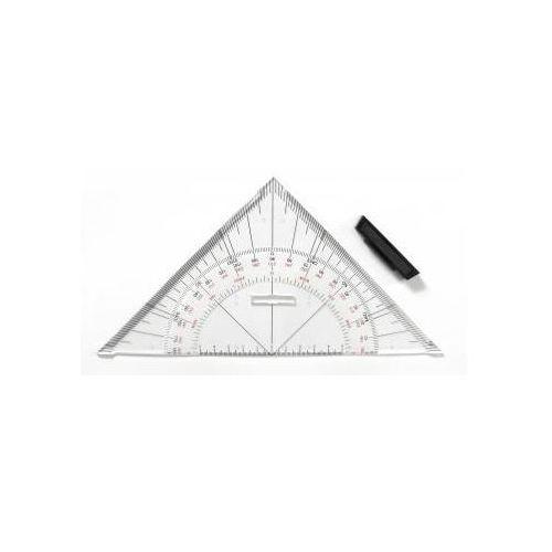 Ekierka geo-trójkąt nawigacyjny uchwyt 25cm x1 marki Przybory kreślarskie