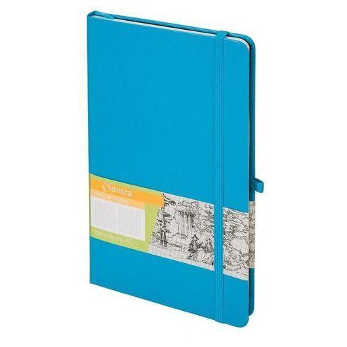 Antra Notes a5 kratka romantyzm jasno niebieski (5904210044531)