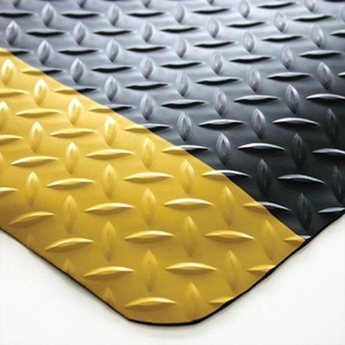 Coba plastics Mata zapobiegająca zmęczeniu, pcv / neopren, stała wielkość, czarny / żółty, 150