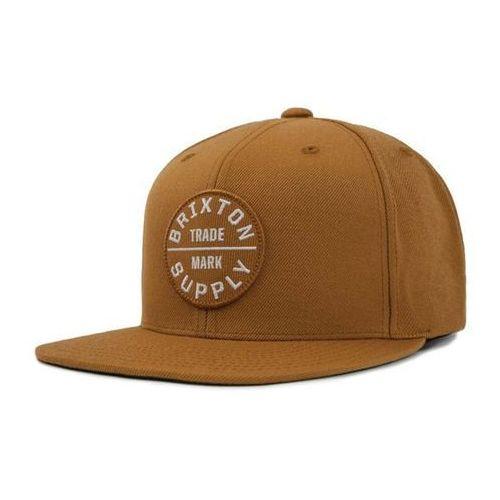 czapka z daszkiem BRIXTON - Oath Iii Snapback Copper White (CPWHT) rozmiar: OS, kolor biały