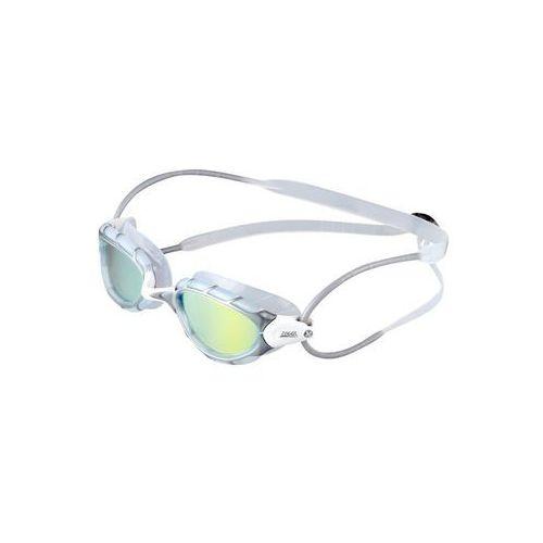 Zoggs PREDATOR MIRROR Okulary pływackie grey/white - sprawdź w wybranym sklepie