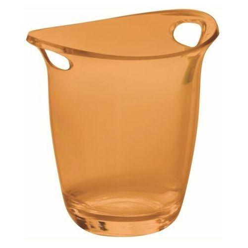 Casa Bugatti - Cooler Glamour do wina i szampana - pomarańczowy