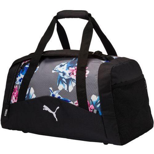 b51579446d500 Puma torba sportowa Fund. Sports Bag Graphic M Steel Gray Fl (4059504722587)