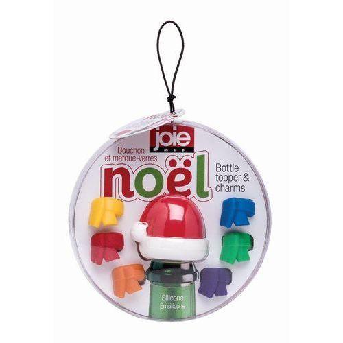 Msc - noel - świąteczny zestaw do wina (korek i 6 znaczników na kieliszki) (0067742991805)