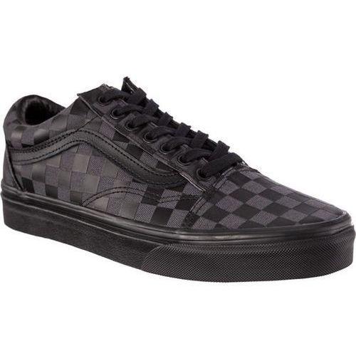 Vans OLD SKOOL U5B HIGH DENSITY BLACK CHECKERBOARD - Buty Sneakersy