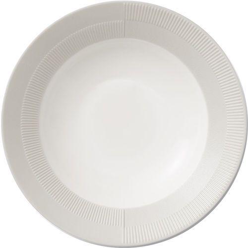 Talerz porcelanowy Duet głęboki 23 cm, szary - Rosendahl